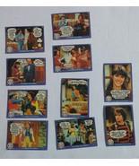 Mork and Mindy Loose Vintage Set of 10 Trading Cards 1978 - $7.24