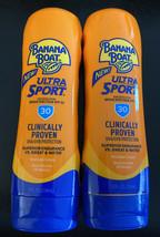 Banana Boat Ultra Sport Clinically Proven UVA/UVB Protection SPF30 Sunsc... - $8.59