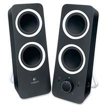 Logitech Z200 2.0 Speaker System - Black - $24.74