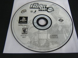 NHL FaceOff 2001 (Sony PlayStation 1, 2000) - Disc Only!!! - $4.45