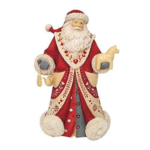 "Enesco Heart of Christmas God Jul, 8.78"" Figurine, Multicolor"