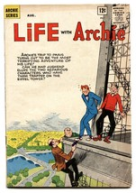 Life With Archie #22 1963-MLJ-Betty-Veronica-Eiffel Tower-crime VG - £45.71 GBP