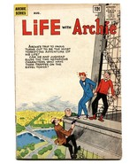 Life With Archie #22 1963-MLJ-Betty-Veronica-Eiffel Tower-crime VG - $56.75