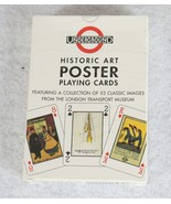 Underground London Transport Museum Historic Art Poster Playing Cards Ne... - $15.79