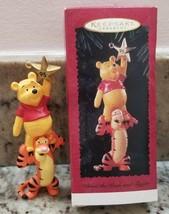 DISNEY HALLMARK Winnie the Pooh and Tigger 1995 Christmas Keepsake ornament - $11.76