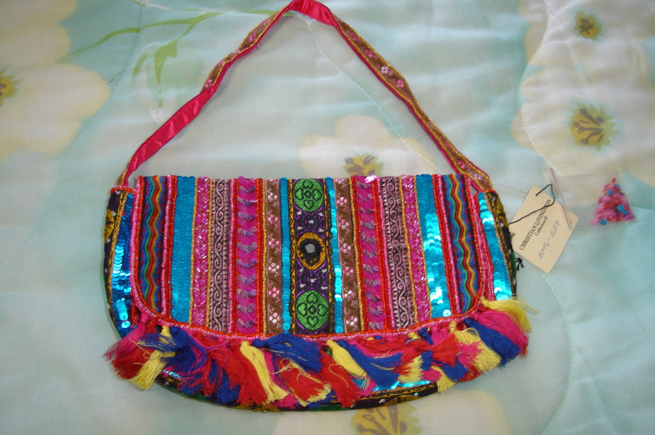 Multicolored handbag1