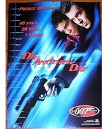 JAMES BOND 007 40th ANNIVERSARY DIE ANOTHER DAY POSTER - $12.00