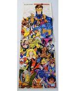1991 Jim Lee X-Men Marvel Comics poster 1: Wolverine/Rogue/Psylocke/Gamb... - $40.00