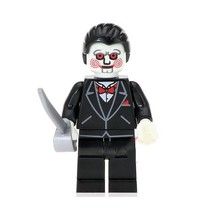 1Pcs The Horror Theme Movie Billy With Knife Fit Lego Building Block Min... - $6.99