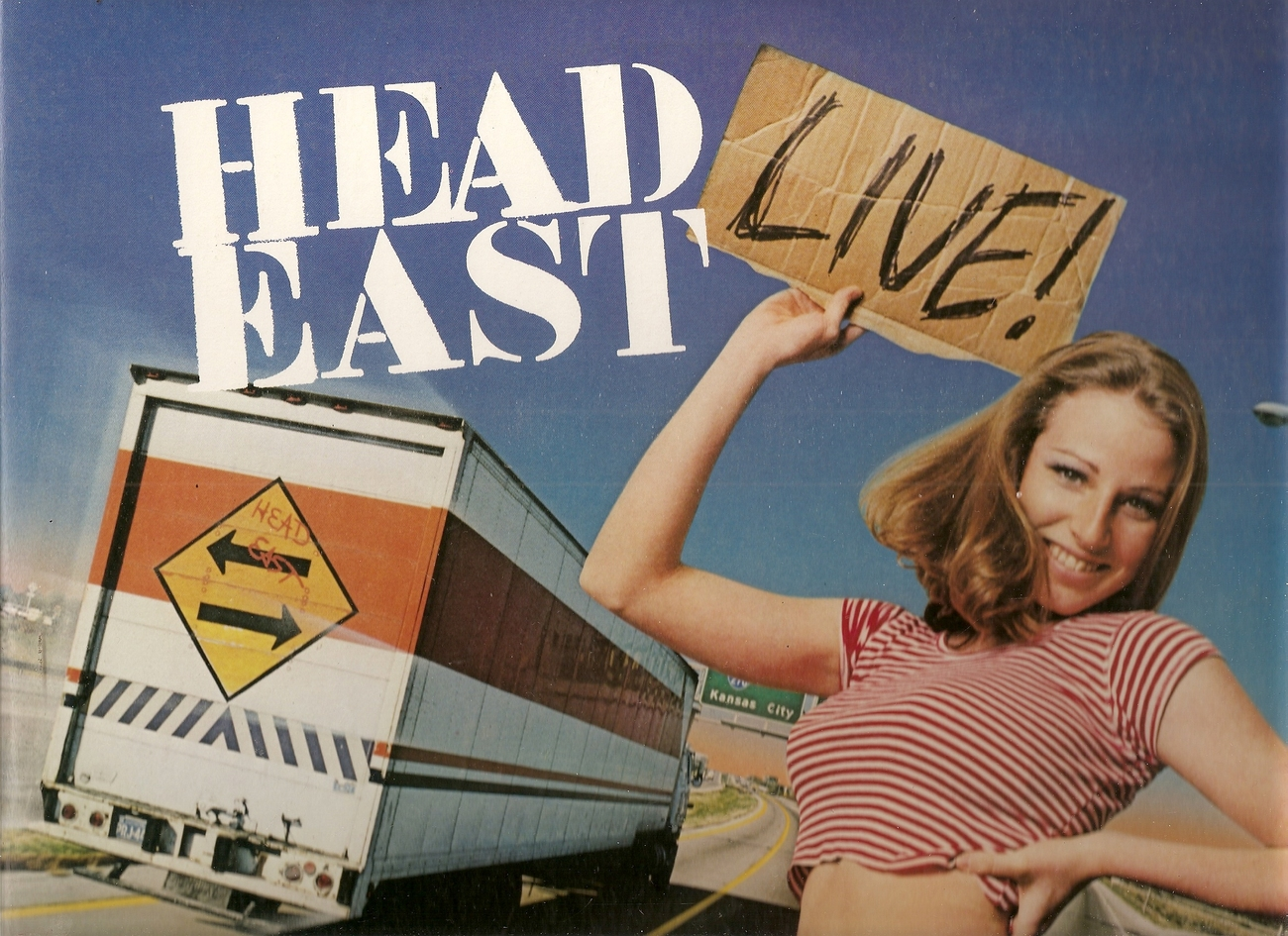 LP--Live by Head East