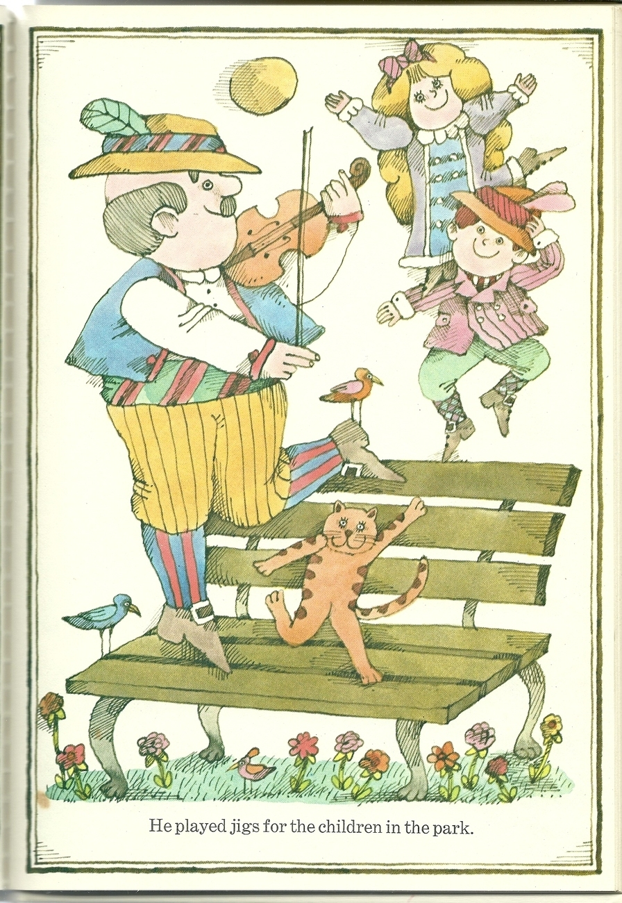 The Cat And The Fiddler by Jacky Jeter Hardcover Book 1968