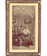 Take One Each Hour Until Relieved 1914 Vintage Post Card - $5.00