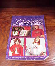 Ultimate Christmas Iron-On Transfer Book by Anne Feltzer - $4.95