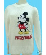 Vintage DISNEY Sweater men size S MICKEY MOUSE - $49.99