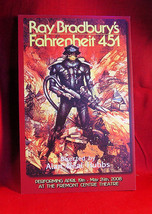 Ray Bradbury FAHRENHEIT 451 Theatre Card and folding brochure - $122.50