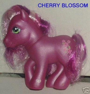 G3 Newer My Little Pony MLP CHERRY BLOSSOM