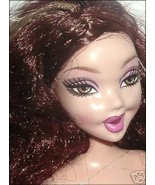 MY SCENE Barbie Doll auburn hair FAB FACE expre... - $9.99