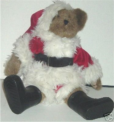 BOYDS Bears Plush SANTA Bear WIND-UP Musical 14""