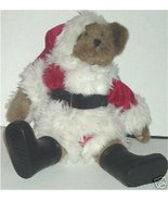"BOYDS Bears Plush SANTA Bear WIND-UP Musical 14"" - $64.99"