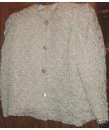 GEORGELINA DAMAS OOAK Crinkle PUCKER Jacket RHI... - $49.99