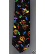Addiction Christmas novelty Neck Tie tree light... - $12.77
