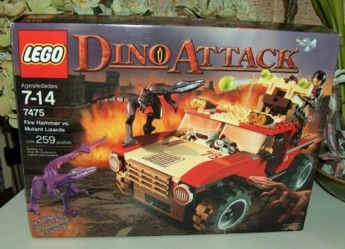 Lego 7475 dino attack