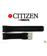 Citizen Eco-Drive BJ2120-07E 23mm Black Rubber Watch Band S062764 S061881 - $69.25