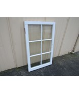 Handcrafted Antique Exterior True Divided Window Type F 40in x 23 3/4in ... - $100.15