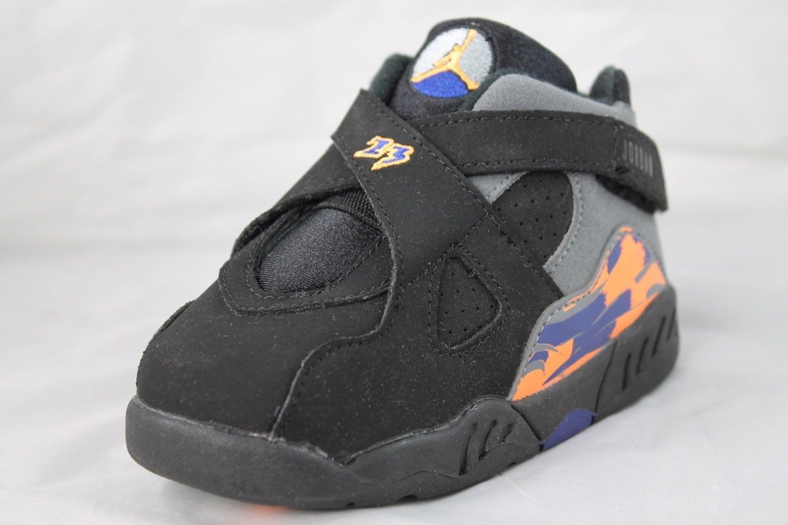 various colors 60ebe 71d6c NIKE Air Jordan 8 Retro (TD) Black Bright and 50 similar items