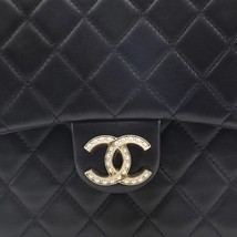 Auth Chanel Limited Ed Westminster Pearl Chain Quilted Lambskin Medium Flap bag image 9