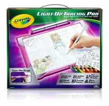 Crayola Light-Up Tracing Pad Pink, Coloring Board For Kids, Easter Gift,... - $37.54