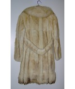 Women's Vintage Coyote Fur Coat Steen Wright Furriers Luxuriously Soft - $199.99