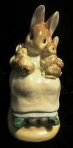 Beatrix Potter Mommy Baby Bunny Bank - ENESCO - $26.55