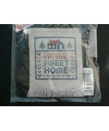 VINTAGE SCENTED CROSS-STITCH SAMPLER - BRAND NEW IN PACKAGE! - £5.45 GBP