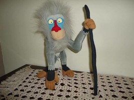 Disney Lion King RAFIKI Monkey Stuffed Poseable Toy - $86.85