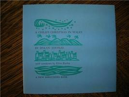 1959 DYLAN THOMAS A Child's Xmas in Wales illustrated - $25.00