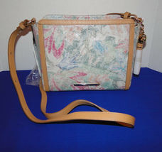 Brahmin Carrie Creme Talitha Leather Crossbody image 9