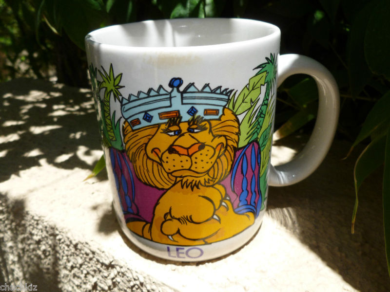 Primary image for LEO with Horoscope Coffee Cup Tea Mug White