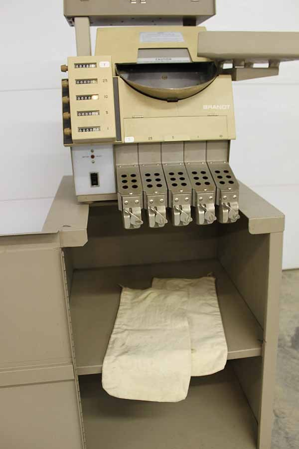 Brandt Coin Sorter and Money Counter Model 930 - Good Working Condition