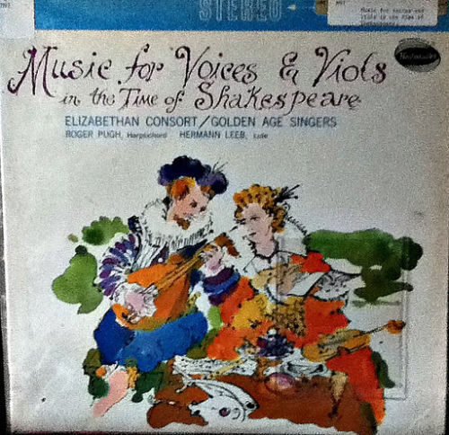 Music For Voices And Viols In The Time Of Shakespeare LP