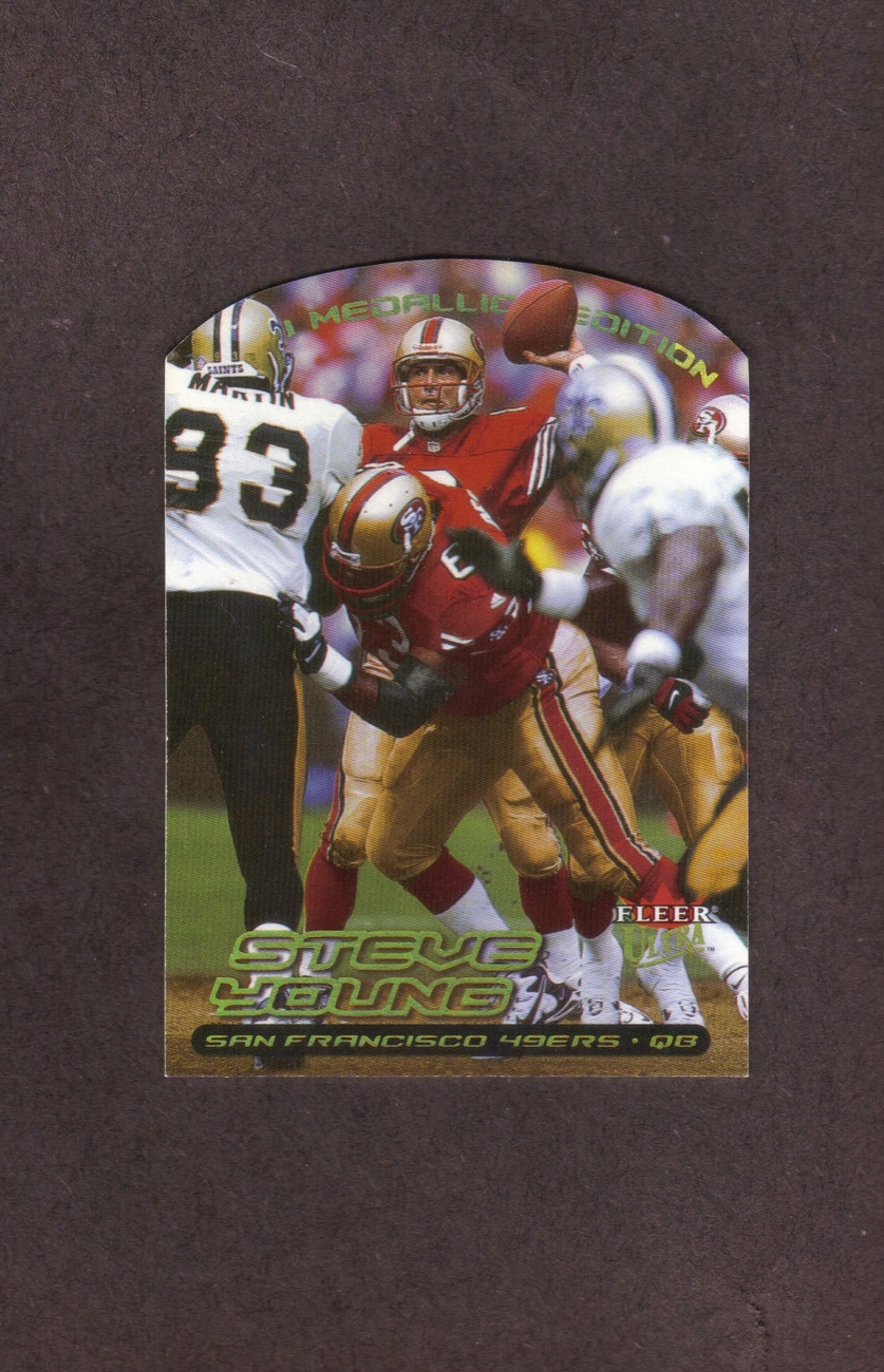 2000 Ultra Gold Medallion # 105G Steve Young 49ers