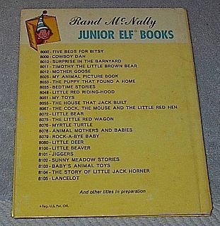 Rand McNally Jr. Elf Book, Pussy Cat Talks to Her Kittens