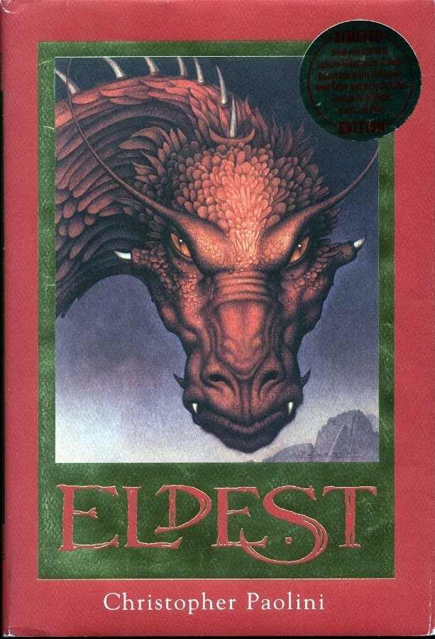 Eldest the Hard Cover Edition 2nd book / Eragon Series