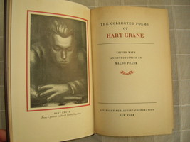 Hart Crane Selected Poems, Liveright 1933 - $125.00