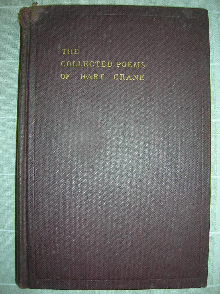 Hart Crane Selected Poems, Liveright 1933