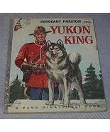 Rand McNally Elf Book, Sergeant Preston and Yukon King - $9.95