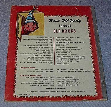 Rand McNally Elf Book, Sergeant Preston and Yukon King