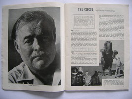 Ernest Hemingway ['The Circus'] found within Ri... - $75.00
