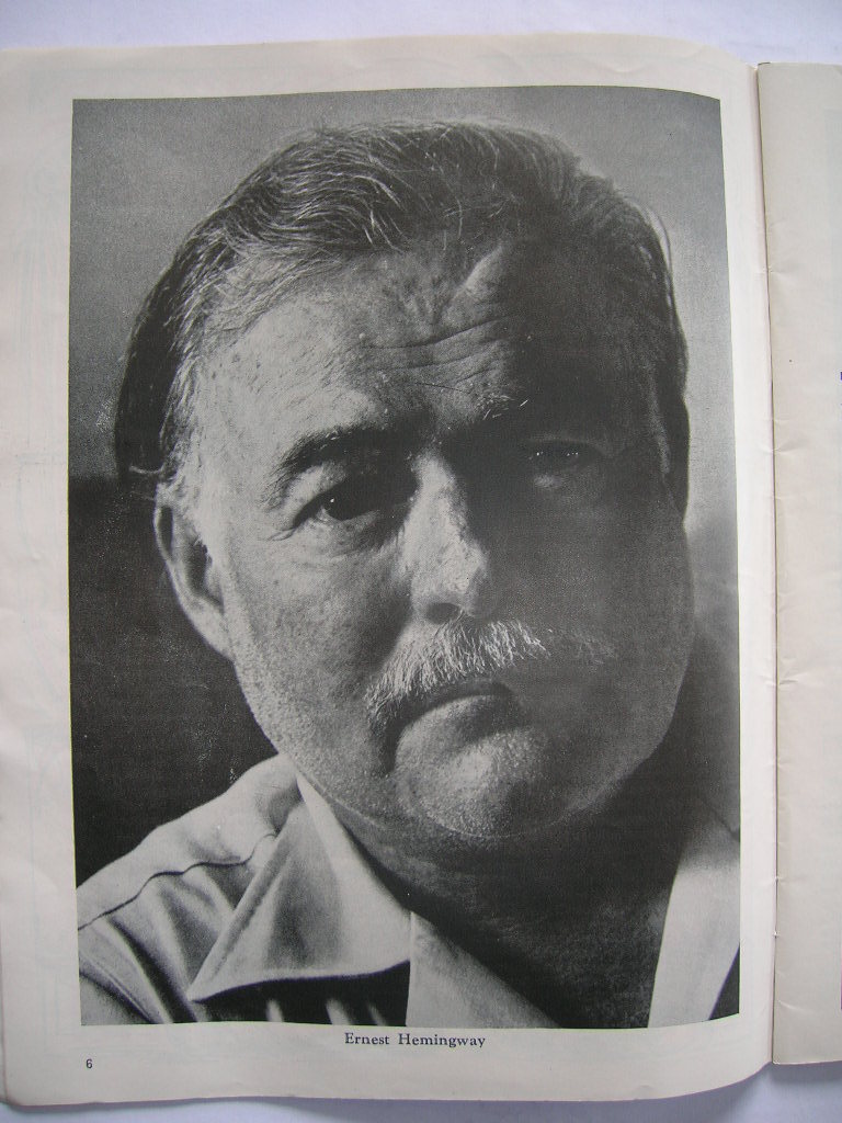 Ernest Hemingway ['The Circus'] found within Ringling Bros. and Barnum & Bailey