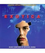 EXOTICA SOUNDTRACK MYCHAEL DANNA CD RARE - $6.95
